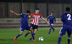 SOUTHAMPTON, ENGLAND - FEBRUARY 15: Tom O'Connor  (middle) during the U23s PL2 match between Southampton FC and Fulham FC pictured at Staplewood Complex on February 15, 2019 in Southampton, England. (Photo by James Bridle - Southampton FC/Southampton FC via Getty Images)