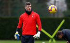 SOUTHAMPTON, ENGLAND - FEBRUARY 22: Fraser Forster during a Southampton FC training session at the Staplewood Campus on February 22, 2019 in Southampton, England. (Photo by Matt Watson/Southampton FC via Getty Images)