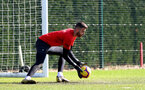 SOUTHAMPTON, ENGLAND - FEBRUARY 26: Angus Gunn during a Southampton FC training session at the Staplewood Campus on February 26, 2019 in Southampton, England. (Photo by Matt Watson/Southampton FC via Getty Images)