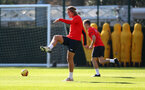 SOUTHAMPTON, ENGLAND - FEBRUARY 26: Jannik Vestergaard during a Southampton FC training session at the Staplewood Campus on February 26, 2019 in Southampton, England. (Photo by Matt Watson/Southampton FC via Getty Images)