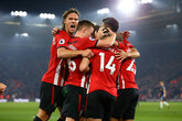 Saints beat Fulham to climb out of bottom three