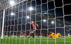 SOUTHAMPTON, ENGLAND - FEBRUARY 27: James Ward-Prowse of Southampton scores to make it 2-0 during the Premier League match between Southampton FC and Fulham FC at St Mary's Stadium on February 27, 2019 in Southampton, United Kingdom. (Photo by Matt Watson/Southampton FC via Getty Images)