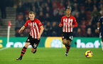 SOUTHAMPTON, ENGLAND - FEBRUARY 27:  James Ward-Prowse (left) during the Premier League match between Southampton FC and Fulham FC at St Mary's Stadium on February 27, 2019 in Southampton, United Kingdom. (Photo by James Bridle - Southampton FC/Southampton FC via Getty Images)