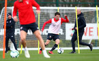 SOUTHAMPTON, ENGLAND - FEBRUARY 28: Jake Vokins during a Southampton FC training session at the Staplewood Campus on February 28, 2019 in Southampton, England. (Photo by Matt Watson/Southampton FC via Getty Images)