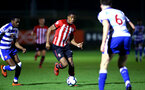 SOUTHAMPTON, ENGLAND - MARCH 01: Kayne Ramsay  (left) during the PL2 match between Southampton FC and Reading FC pictured at Staplewood Complex on March 01, 2019 in Southampton, England. (Photo by James Bridle - Southampton FC/Southampton FC via Getty Images)