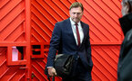 MANCHESTER, ENGLAND - MARCH 02: Ralph Hasenhuttl of Southampton ahead of the Premier League match between Manchester United and Southampton FC at Old Trafford on March 02, 2019 in Manchester, United Kingdom. (Photo by Matt Watson/Southampton FC via Getty Images)