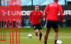 SOUTHAMPTON, ENGLAND - MARCH 05: Jake Vokins during a Southampton FC training session at the Staplewood Campus on March 05, 2019 in Southampton, England. (Photo by Matt Watson/Southampton FC via Getty Images)