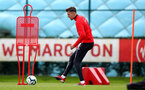 SOUTHAMPTON, ENGLAND - MARCH 05: Jan Bednarek during a Southampton FC training session at the Staplewood Campus on March 05, 2019 in Southampton, England. (Photo by Matt Watson/Southampton FC via Getty Images)