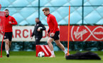 SOUTHAMPTON, ENGLAND - MARCH 05: Stuart Armstrong during a Southampton FC training session at the Staplewood Campus on March 05, 2019 in Southampton, England. (Photo by Matt Watson/Southampton FC via Getty Images)