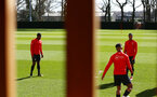 SOUTHAMPTON, ENGLAND - MARCH 07:  during a Southampton FC training session pictured at Staplewood Complex on March 07, 2019 in Southampton, England. (Photo by James Bridle - Southampton FC/Southampton FC via Getty Images)