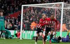 SOUTHAMPTON, ENGLAND - MARCH 09: Yan Valery's goal celebration during the Premier League match between Southampton FC and Tottenham Hotspur at St Mary's Stadium on March 9, 2019 in Southampton, United Kingdom. (Photo by Chris Moorhouse/Southampton FC via Getty Images)