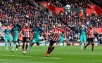 SOUTHAMPTON, ENGLAND - MARCH 09: Shane Long of Southampton during the Premier League match between Southampton FC and Tottenham Hotspur at St Mary's Stadium on March 09, 2019 in Southampton, United Kingdom. (Photo by Matt Watson/Southampton FC via Getty Images)