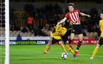 WOLVERHAMPTON, ENGLAND - MARCH 05:  Sam Gallagher (Right) during the PL2 U23's match between Wolverhampton Wanders and Southampton FC at Molineux Stadium in Wolverhampton, England, on March 05, 2019 (Photo by James Bridle - Southampton FC/Southampton FC via Getty Images)