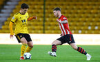 WOLVERHAMPTON, ENGLAND - MARCH 05:  Callum Slattery (right) during the PL2 U23's match between Wolverhampton Wanders and Southampton FC at Molineux Stadium in Wolverhampton, England, on March 05, 2019 (Photo by James Bridle - Southampton FC/Southampton FC via Getty Images)