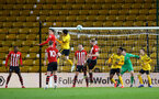WOLVERHAMPTON, ENGLAND - MARCH 05:  during the PL2 U23's match between Wolverhampton Wanders and Southampton FC at Molineux Stadium in Wolverhampton, England, on March 05, 2019 (Photo by James Bridle - Southampton FC/Southampton FC via Getty Images)