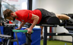 Jack Stephens during a Southampton gym session, at the Staplewood Campus, Southampton, 12th March 2019