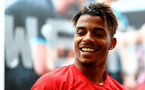 Mario Lemina during a Southampton gym session, at the Staplewood Campus, Southampton, 12th March 2019