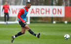 Yan Valery during Southampton FC training session at the Staplewood Campus, Southampton, 22nd March 2019