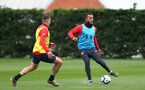 Nathan Redmond during Southampton FC training session at the Staplewood Campus, Southampton, 22nd March 2019
