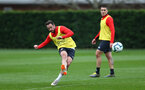 Danny Ings during Southampton FC training session at the Staplewood Campus, Southampton, 22nd March 2019