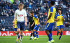 LONDON, ENGLAND - MARCH 24:  Benni Smails Braithwaite lines up a freekick (middle) during the U18s Premier League match between Tottenham Hot Spur and Southampton FC at Tottenham Hotspur Stadium on March 24, 2019 in London, England. (Photo by James Bridle - Southampton FC/Southampton FC via Getty Images)