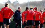 SOUTHAMPTON, ENGLAND - MARCH 27: Ralph Hasenhuttl during a Southampton FC training session at the Staplewood Campus on March 27, 2019 in Southampton, England. (Photo by Matt Watson/Southampton FC via Getty Images)