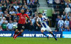 BRIGHTON, ENGLAND - MARCH 30: Nathan Redmond of Southampton during the Premier League match between Brighton & Hove Albion and Southampton FC at American Express Community Stadium on March 30, 2019 in Brighton, United Kingdom. (Photo by Matt Watson/Southampton FC via Getty Images)