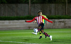 SOUTHAMPTON, ENGLAND - APRIL 05:  Kayne Ramsay  scores but is ruled off side during the U23's PL2 match between Southampton FC and Norwich City pictured at Staplewood Complex on April 05, 2019 in Southampton, England. (Photo by James Bridle - Southampton FC/Southampton FC via Getty Images)