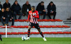 SOUTHAMPTON, ENGLAND - APRIL 05:  Kayne Ramsay  during the U23's PL2 match between Southampton FC and Norwich City pictured at Staplewood Complex on April 05, 2019 in Southampton, England. (Photo by James Bridle - Southampton FC/Southampton FC via Getty Images)