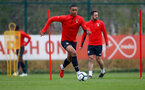 SOUTHAMPTON, ENGLAND - APRIL 09: Yan Valery during a training session at the Staplewood Campus on April 09, 2019 in Southampton, England. (Photo by Matt Watson/Southampton FC via Getty Images)