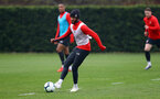 SOUTHAMPTON, ENGLAND - APRIL 09: Nathan Redmond during a training session at the Staplewood Campus on April 09, 2019 in Southampton, England. (Photo by Matt Watson/Southampton FC via Getty Images)