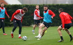 SOUTHAMPTON, ENGLAND - APRIL 09: Pierre-Emile Hojbjerg during a training session at the Staplewood Campus on April 09, 2019 in Southampton, England. (Photo by Matt Watson/Southampton FC via Getty Images)