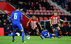 SOUTHAMPTON, ENGLAND - APRIL 10: Tyreke Johnson (middle) during the International PL Cup match between Southampton FC and Dinamo Zagreb, pictured at St. Mary's Stadium on April 10, 2019 in Southampton, England. (Photo by James Bridle - Southampton FC/Southampton FC via Getty Images) (Photo by James Bridle - Southampton FC/Southampton FC via Getty Images)