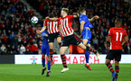 SOUTHAMPTON, ENGLAND - APRIL 10: Harry Hamblin of Southampton scores from a header (Left-centre) during the International PL Cup match between Southampton FC and Dinamo, Zagreb pictured at St. Mary's Stadium on April 10, 2019 in Southampton, England. (Photo by James Bridle - Southampton FC/Southampton FC via Getty Images)