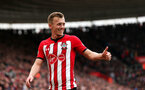 SOUTHAMPTON, ENGLAND - APRIL 13: James Ward-Prowse during the Premier League match between Southampton FC and Wolverhampton Wanderers at St Mary's Stadium on April 13, 2019 in Southampton, United Kingdom. (Photo by Chris Moorhouse/Southampton FC via Getty Images)
