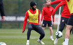 SOUTHAMPTON, ENGLAND - APRIL 16: Nathan Redmond during a Southampton FC training session at the Staplewood Campus on April 16, 2019 in Southampton, England. (Photo by Matt Watson/Southampton FC via Getty Images)