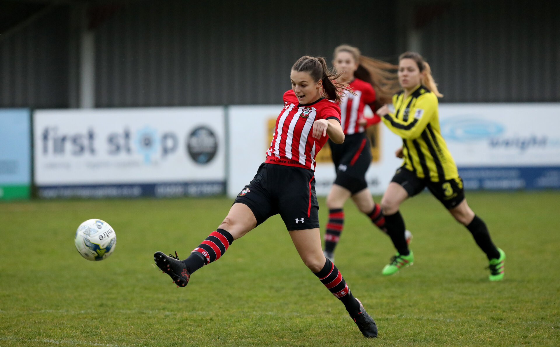 Chloe Newton. Southampton Women v Warsash Wasps, Testwood Stadium, Totton.                      Picture: Chris Moorhouse           Wednesday 17th April 2019