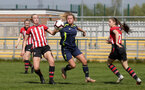 during Southampton Women FC v Barton Rovers, Southern Region Women's Football League Premier Division at Testwood Community Stadium, 21st April 2019.