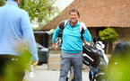 FAREHAM, ENGLAND - APRIL 24: Matt Le Tissier during the Southampton partnerships golf event pictured at Skylark Country Club on April 24, 2019 in Fareham, England. (Photo by James Bridle - Southampton FC/Southampton FC via Getty Images)