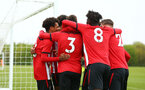 NORWICH, ENGLAND - APRIL 27: Christian Norton scores and celebrated with the team during a U18 Premier League match between Norwich City FC and Southampton FC pictured at Colney Training Ground on April 27, 2019 in Norwich, England. (Photo by James Bridle - Southampton FC/Southampton FC via Getty Images)