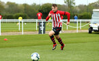 NORWICH, ENGLAND - APRIL 27: Ryan Cluett  during a U18 Premier League match between Norwich City FC and Southampton FC pictured at Colney Training Ground on April 27, 2019 in Norwich, England. (Photo by James Bridle - Southampton FC/Southampton FC via Getty Images)