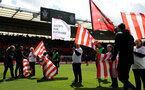 SOUTHAMPTON, ENGLAND - APRIL 27: Saints for Everyone flags during the Premier League match between Southampton FC and AFC Bournemouth at St Mary's Stadium on April 27, 2019 in Southampton, United Kingdom. (Photo by Matt Watson/Southampton FC via Getty Images)