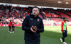 SOUTHAMPTON, ENGLAND - APRIL 27: Ralph Hasenhuttl of Southampton during the Premier League match between Southampton FC and AFC Bournemouth at St Mary's Stadium on April 27, 2019 in Southampton, United Kingdom. (Photo by Matt Watson/Southampton FC via Getty Images)