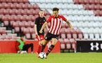 SOUTHAMPTON, ENGLAND - APRIL 29: Harry Hamblin during the Premier League 2 match between Southampton FC and Sunderland pictured at St Mary's Stadium on April 29, 2019 in Southampton, England. (Photo by James Bridle - Southampton FC/Southampton FC via Getty Images)