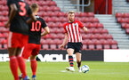 SOUTHAMPTON, ENGLAND - APRIL 29: Aaron O'Driscoll  (right) during the Premier League 2 match between Southampton FC and Sunderland pictured at St Mary's Stadium on April 29, 2019 in Southampton, England. (Photo by James Bridle - Southampton FC/Southampton FC via Getty Images)