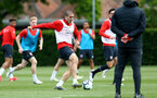 SOUTHAMPTON, ENGLAND - MAY 01: Oriol Romeu during a Southampton FC training session at the Staplewood Campus on May 01, 2019 in Southampton, England. (Photo by Matt Watson/Southampton FC via Getty Images)