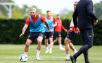 SOUTHAMPTON, ENGLAND - MAY 01: Charlie Austin during a Southampton FC training session at the Staplewood Campus on May 01, 2019 in Southampton, England. (Photo by Matt Watson/Southampton FC via Getty Images)