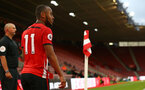SOUTHAMPTON, ENGLAND - MAY 03: Tyreke Johnson lines up a corner kick during the U23s PL2 Play off Semi-Final between Southampton FC and Aston Villa FC pictured at St Mary's Stadium on May 03, 2019 in Southampton, England. (Photo by James Bridle - Southampton FC/Southampton FC via Getty Images)