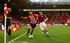 SOUTHAMPTON, ENGLAND - MAY 03: Tom O'Connor  (middle)  during the U23s PL2 Play off Semi-Final between Southampton FC and Aston Villa FC pictured at St Mary's Stadium on May 03, 2019 in Southampton, England. (Photo by James Bridle - Southampton FC/Southampton FC via Getty Images)