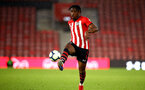 SOUTHAMPTON, ENGLAND - MAY 03: Dan Nlundulu during the U23s PL2 Play off Semi-Final between Southampton FC and Aston Villa FC pictured at St Mary's Stadium on May 03, 2019 in Southampton, England. (Photo by James Bridle - Southampton FC/Southampton FC via Getty Images)